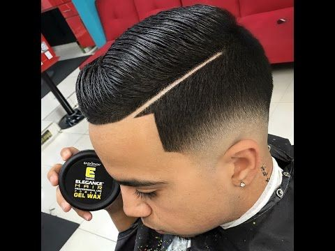 corte de cabelo degrade masculino