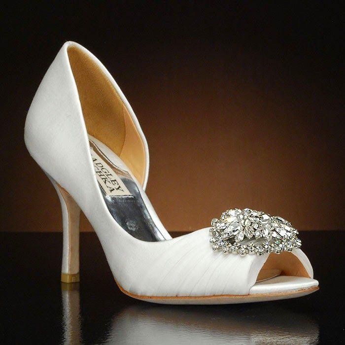 Badley Mischka Bridal shoes