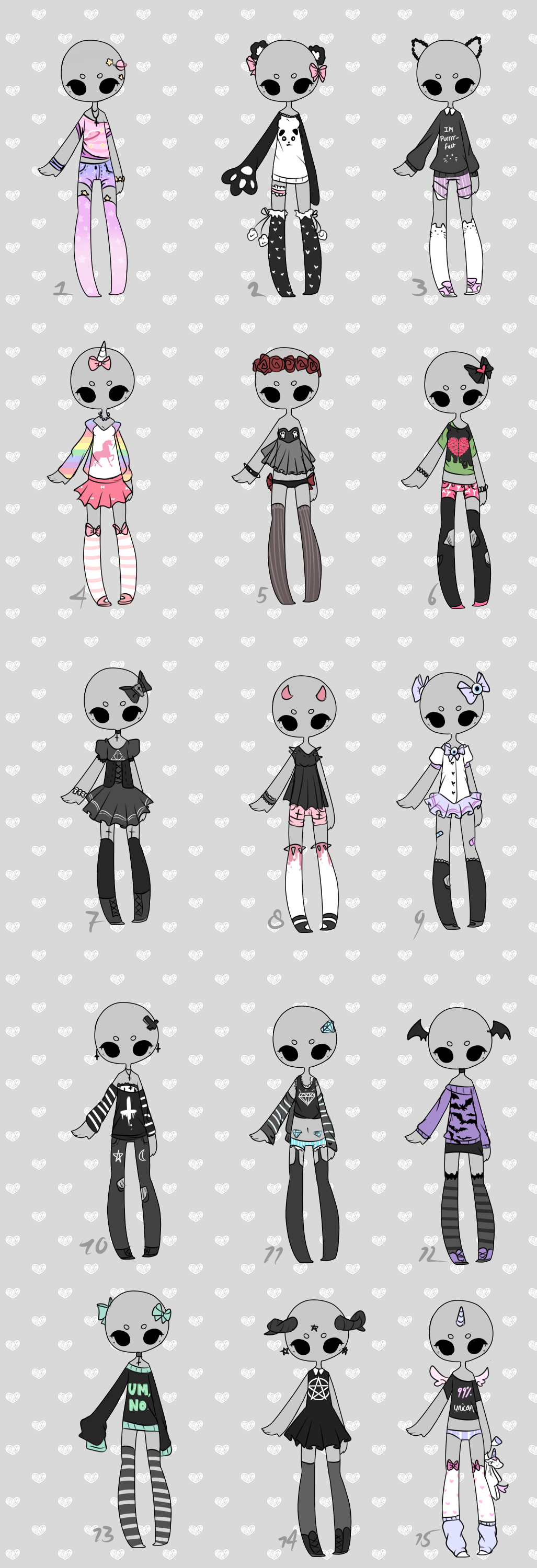 Clothing Refence Fashion Magazinesreference On Clothes: Set Price 3$ Outfit Adoptables CLOSED By KimmyPeaches