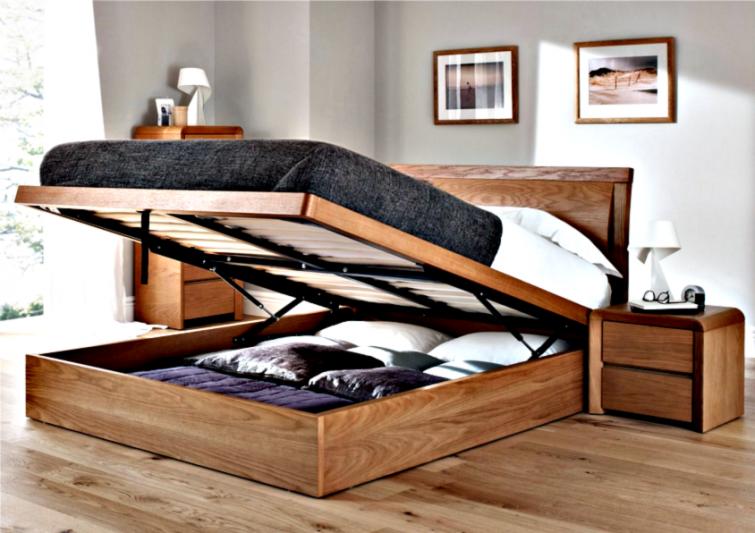 Como ganar espacio en tu hogar | Almohada acolchada, Baulera y ...