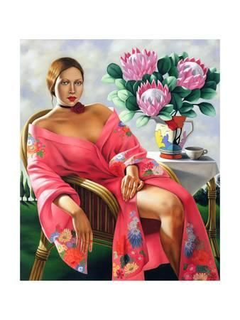 Tea, Late Afternoon, 2005 Giclee Print by Catherine Abel at AllPosters.com