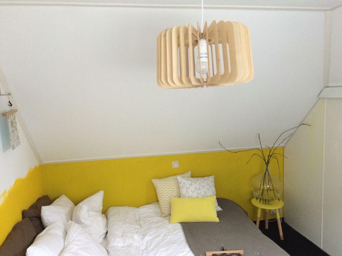 Slaapkamer Geel - Claudia   Pinterest - Slaapkamer geel, Geel en ...