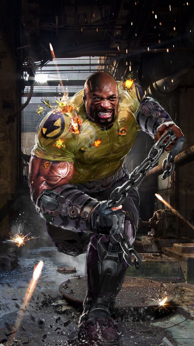 Luke Cage by John Gallagher #PowerMan #HeroForHire - Marvel Comics ...
