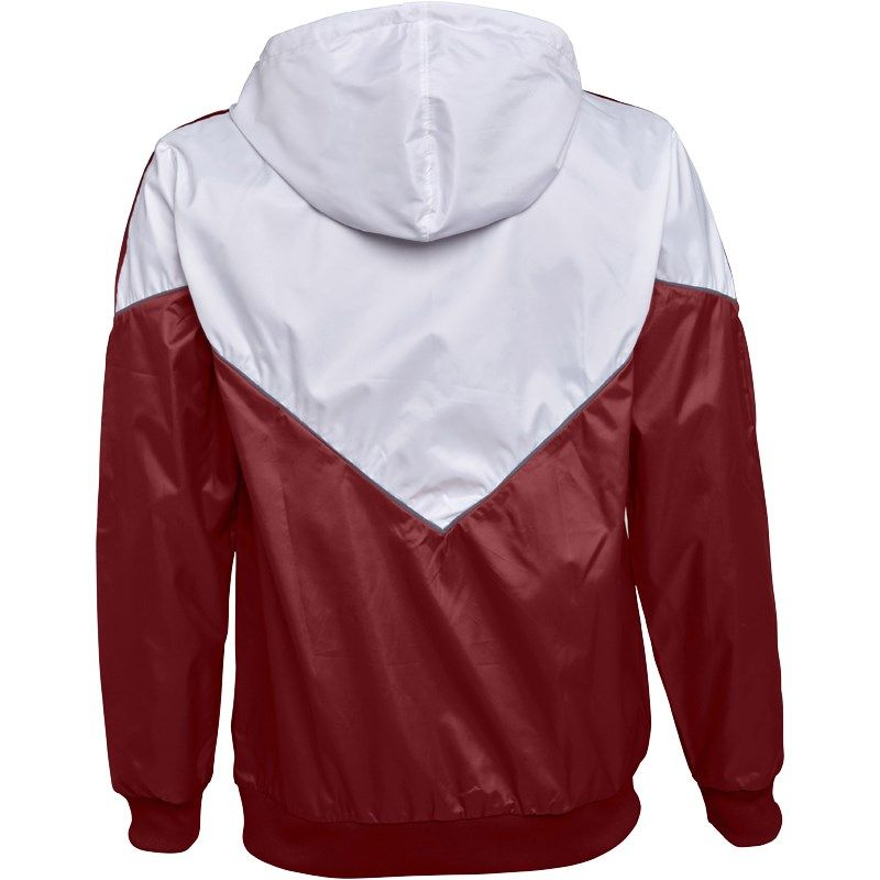 Adidas Originals hombre  Colorado Windbreaker chaqueta burdeos / blanco