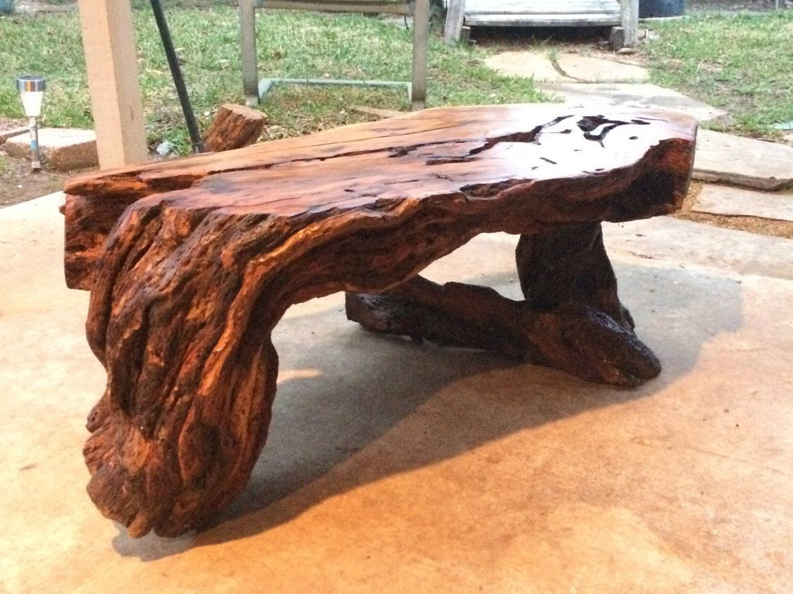 Live Edge Osage Orange Bois D 39 Arc Hedge Table Burl Wood