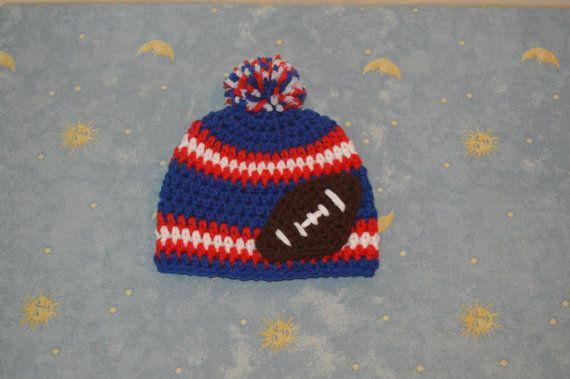 5125a5a70 New York Giants hatcrochet nfl hatcrochet by CraftyCrochetHats ...
