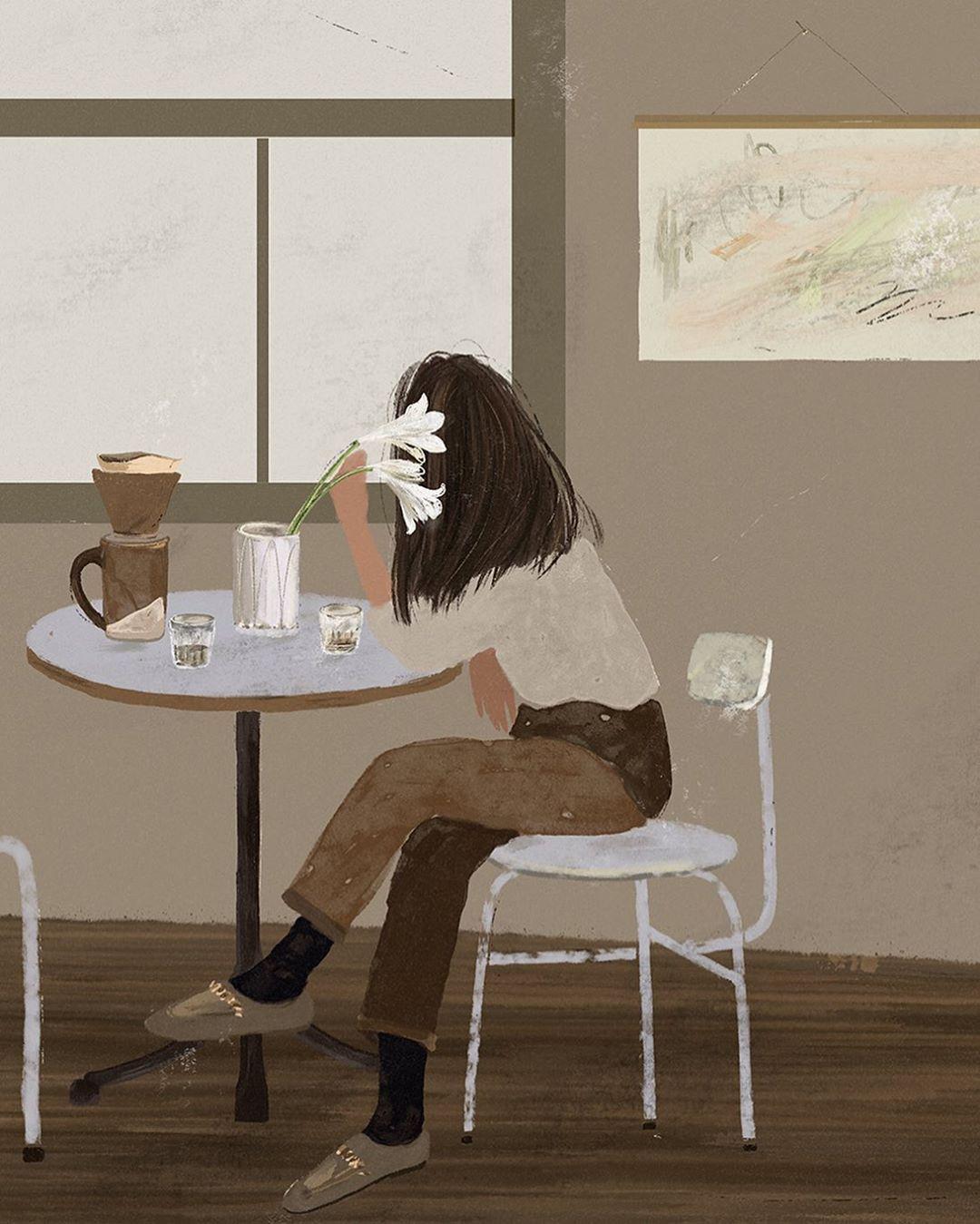 "Anastasi Holubchyk on Instagram: ""Current mood: Coffee dreamer👋🏼🐚 . . . . . . . . . . #moreartsdesign #creativityfound #makersmovement #art_we_inspire #showyourwork…"""