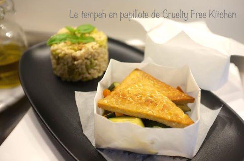 Tempeh en papillote recette gourmande recette cuisine - Cours de cuisine brest ...