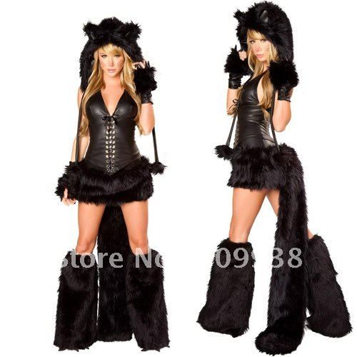 sexy halloween costumes for women sexy wolf costume whitehalloween costumeshalloween fancy - Wolf Costume Halloween