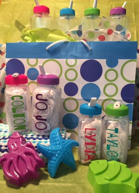 Kids Water Bottles Personalized Birthday Or Party Favor