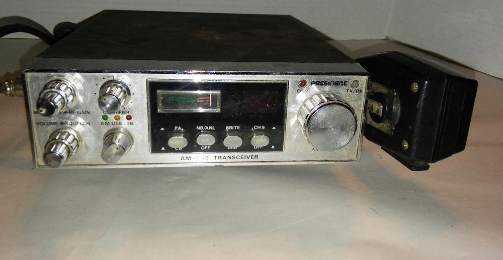 Vintage Uniden President AX144 CB Radio Am-SSB Works | For