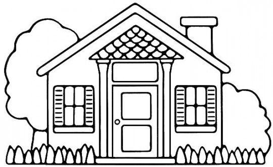 Arquitectónicos Dibujos De Casas Modernas Para Colorear | Planos De ...