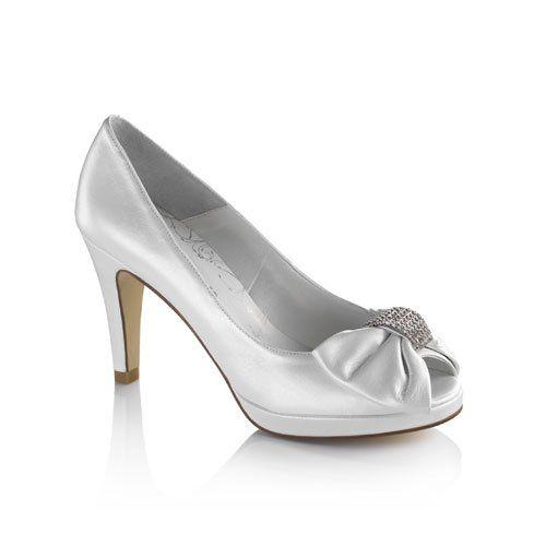 Novia Shoes Zapatosshoes Y Wedding Shoes Zapatos Plateados dIpqd4