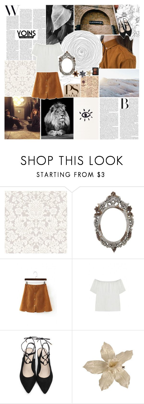 """""""yoins / it's all been done before.✧"""" by same-sunset ❤ liked on Polyvore featuring Rocio, NARS Cosmetics and yoins"""