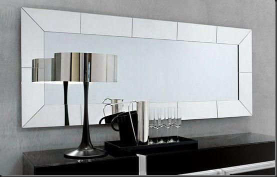 Credenzas Modernas En Espejo : Espejos planos para baños como siempre ya te lo he mencionado