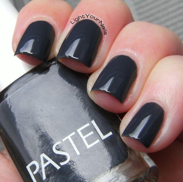 Pastel 13 #nails #nailpolish #grey #pastel