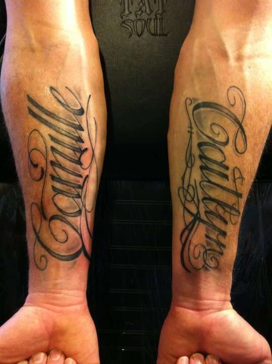 Name Tattoos For Men Names Tattoos For Men Forearm Name Tattoos Tattoos For Kids