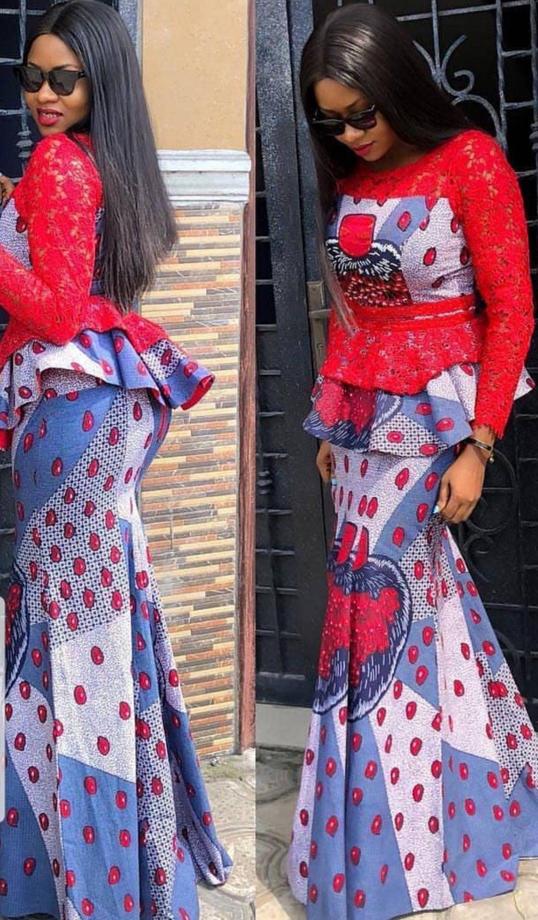 Pagne africain en 2019   Robe africaine, Mode africaine robe et Mode africaine