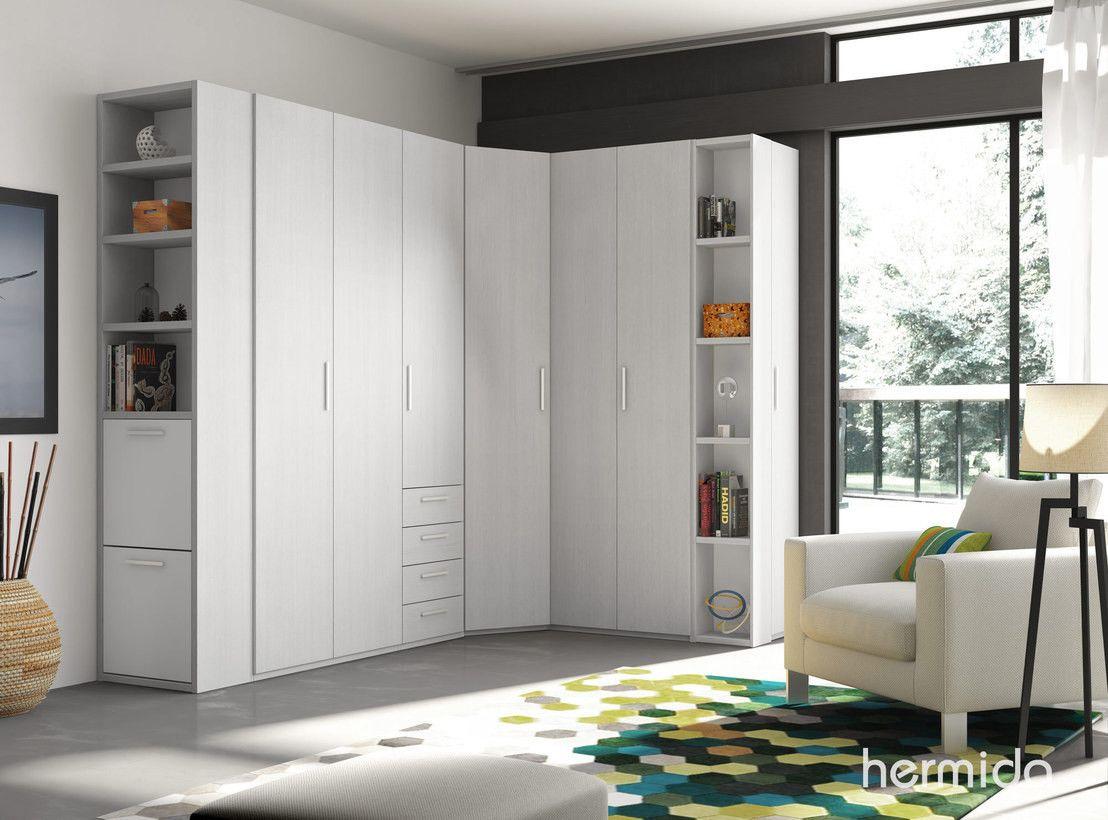 Ideas para crear un vestidor en el dormitorio armario - Armario de esquina ...