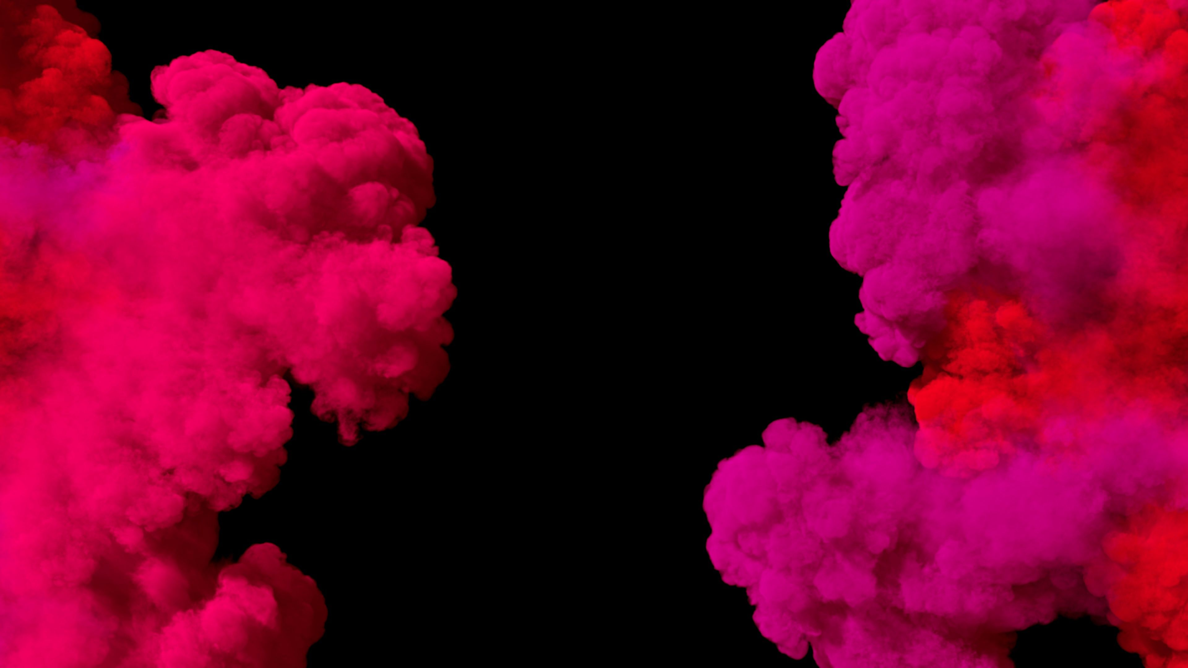 Spreading Colored Smoke Wiping Frame Horizontally Long Distance Stock Footage Wiping Frame Smoke Spreading Colored Smoke Color Smoke