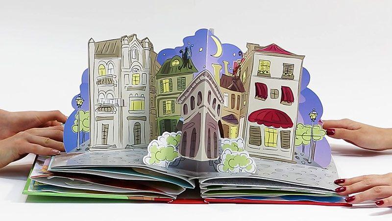 Объемная открытка книжка своими руками видео, почтовом