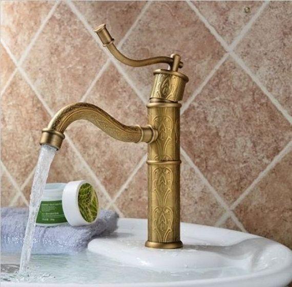 Wasserhahn für Badezimmer oder Küche im antiken von LecosseDesign - wasserhahn für die küche