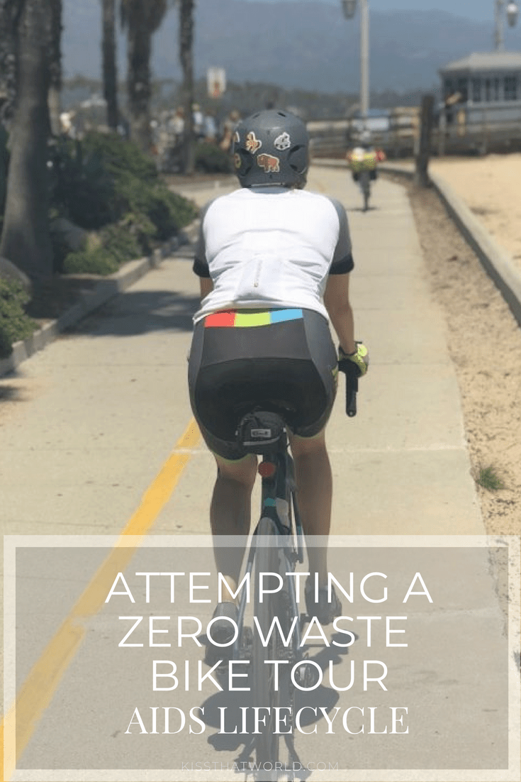 KTW 25  Attempting Zero Waste Biking the Coast of California with
