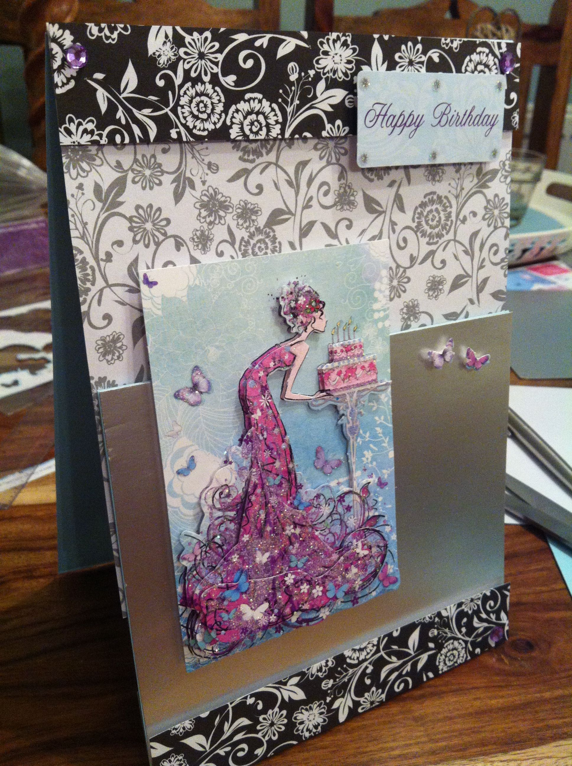 Birthday card DIY