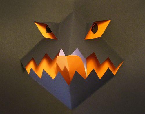 Halloween Pop Up Cards Templates.Free Pop Up Card Template No 1 Paper Crafts Pop Up Card