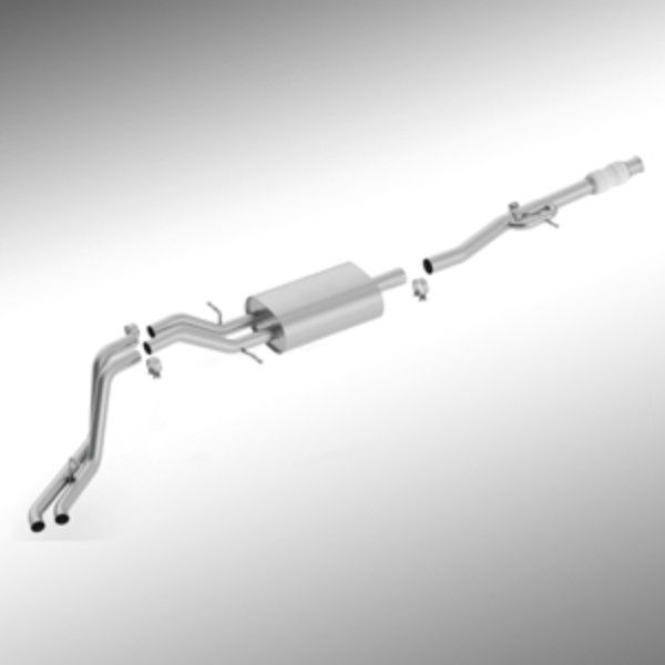 Escalade Cat-Back Exhaust, 6.2L Dual Side Exit:Get Maximum