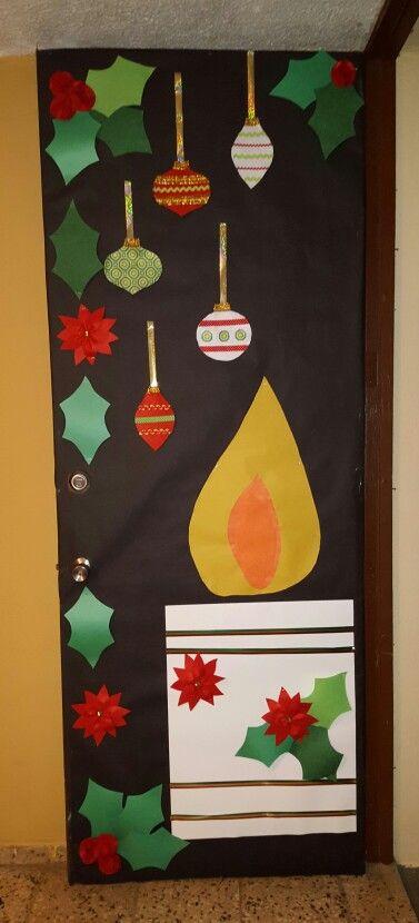 puerta decorada navidad puertas decoradas de navidad