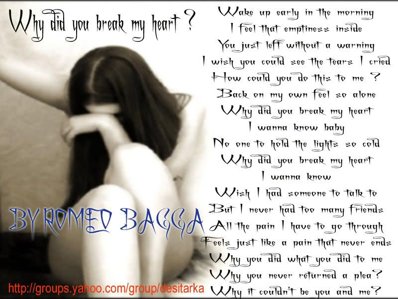 Please Dont Break My Heart Quotes Updated Technology Partner