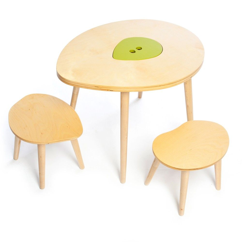 Owyn Table and Stool Set | Spector apt | Pinterest