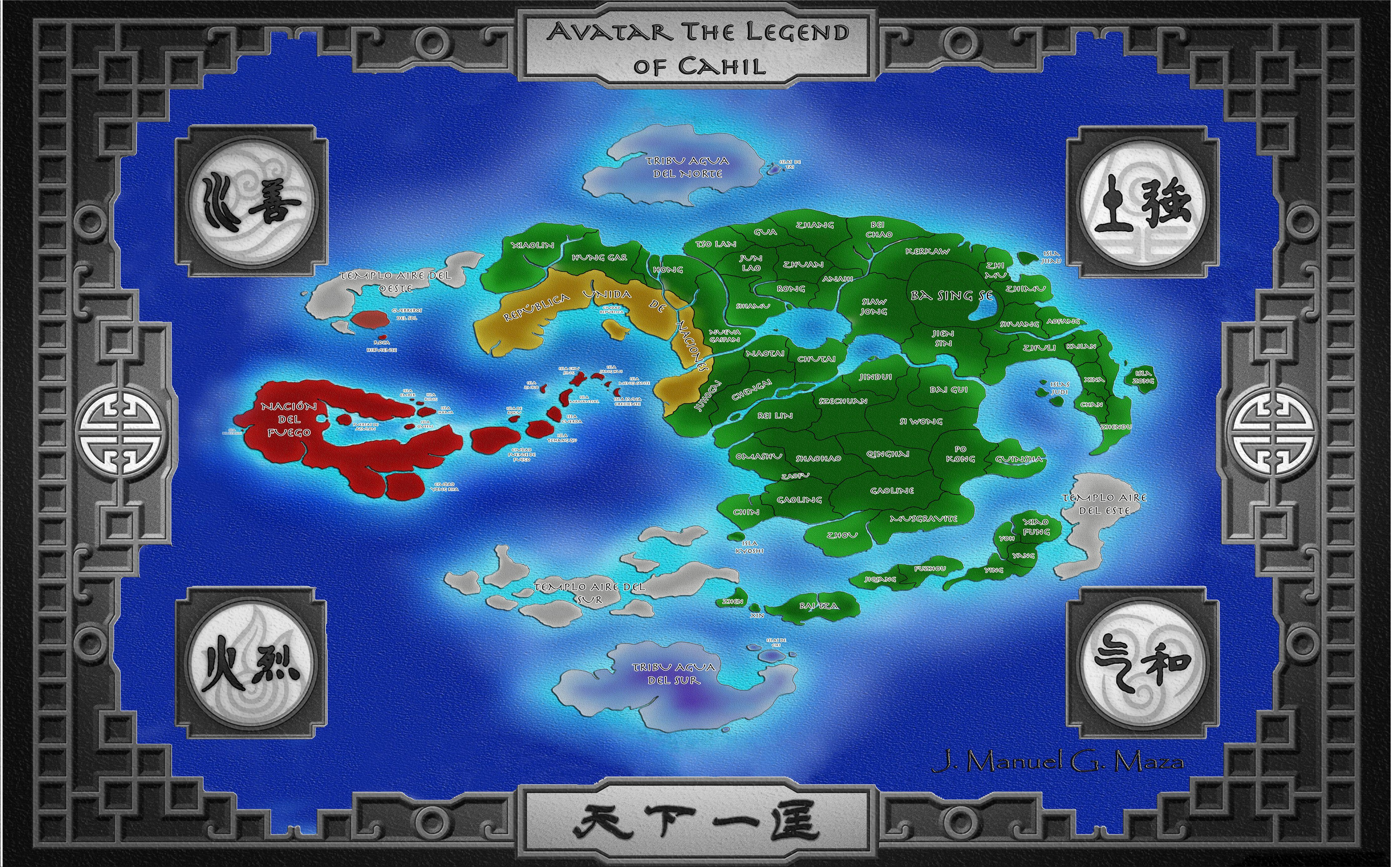 Pin de Curtis Haddrill em Avatar | Avatar, Mapa, A lenda