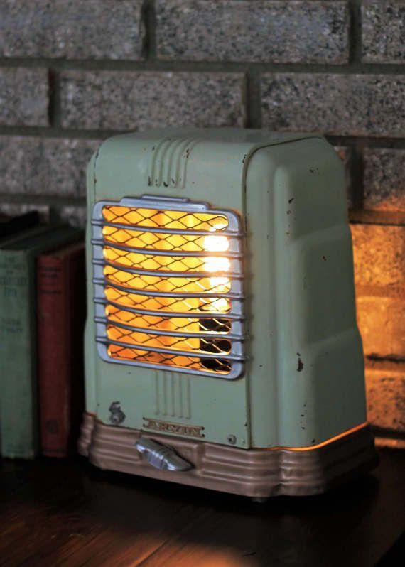 Repurposed Vintage McGraw Edison Space Heater Lamp