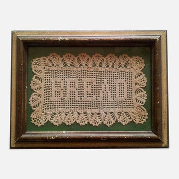Bread Doily, $112, now featured on Fab.