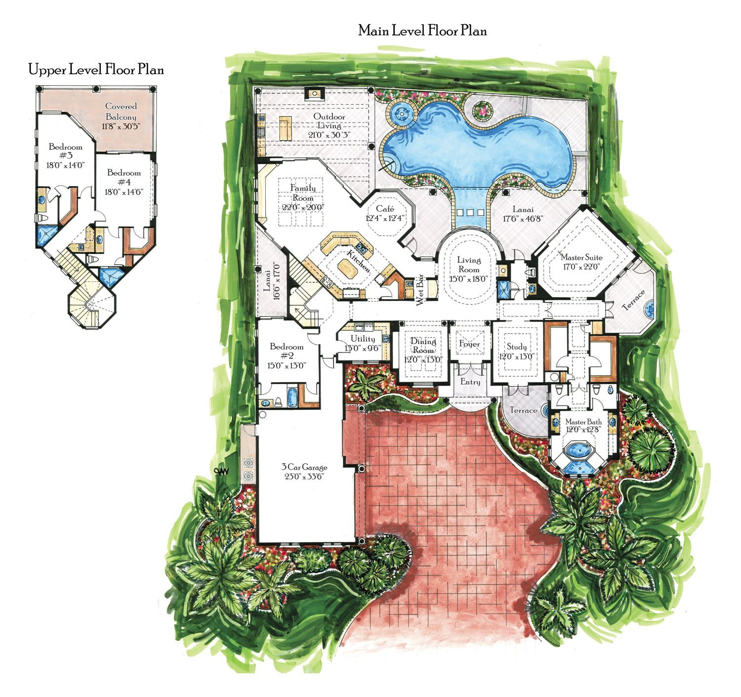 Villa Carlotta How To Plan Floor Plans House Plans