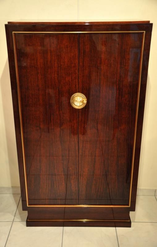 Dominique Andre Domin Marcel Geneviere Cabinet Art Deco 1930 3517 1 Is Art Deco Meubles Art Deco Mobilier Art Deco