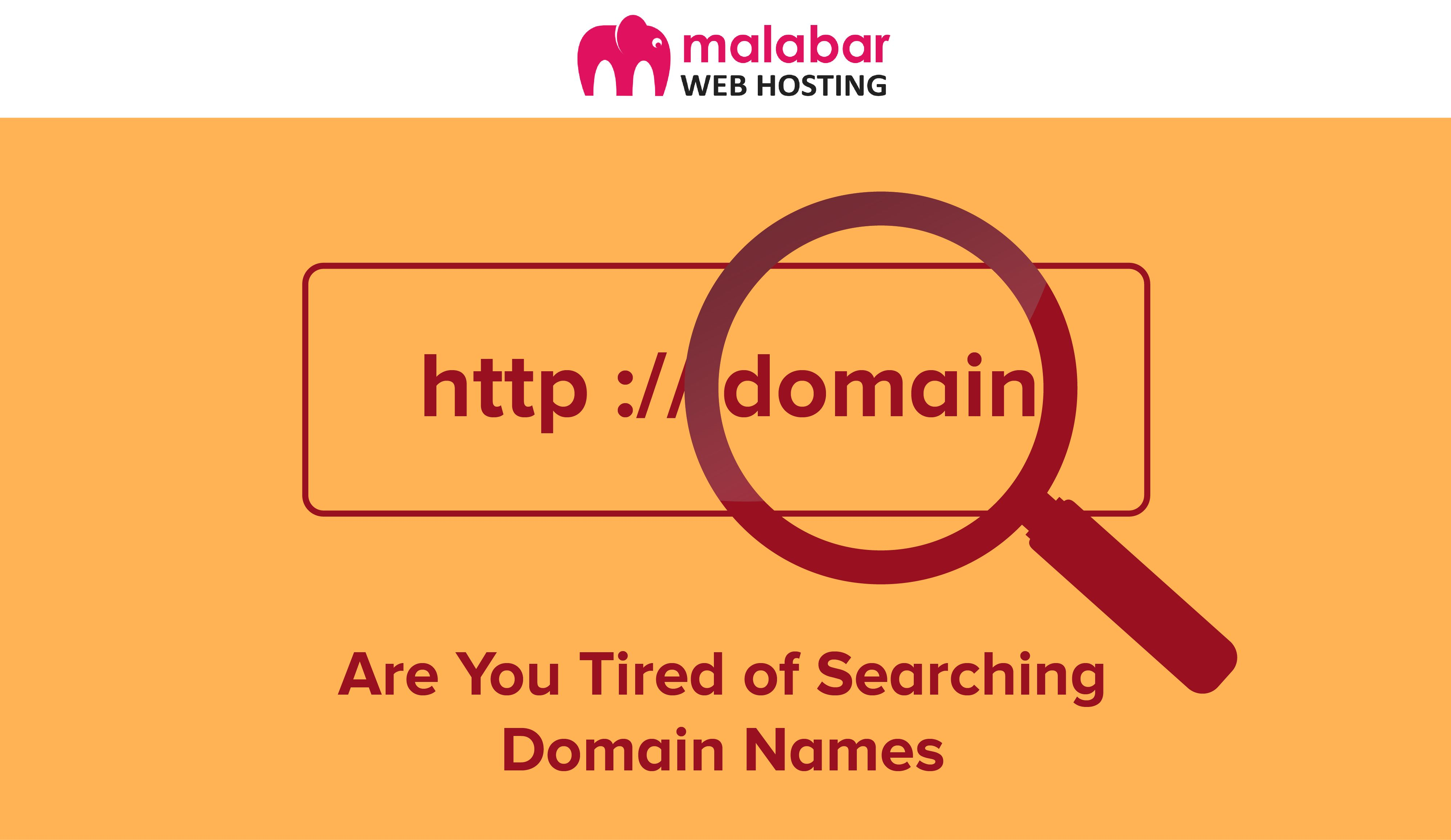 Are You Tired Of Searching Domain Names Suits For A Domain Name Is Necessary To Any Business S Online Presence And When Web Hosting Hosting Free Web Hosting