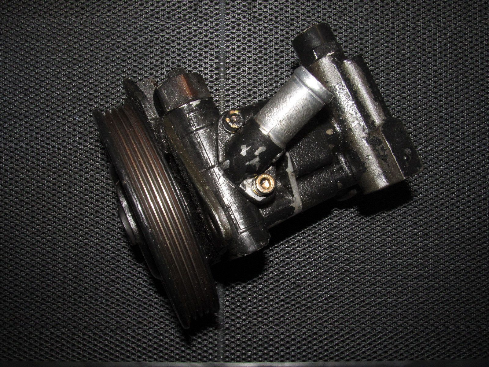 medium resolution of 91 92 93 94 nissan 240sx oem power steering pump
