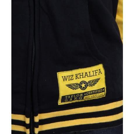 657fc5c19bfa Details about Wiz Khalifa Varsity Jacket L Taylor Gang Rolling ...