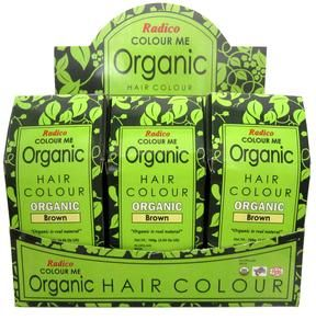 Organic Hair Color dye for Natural hair coloring from Colour Me Organic. Recommended by Kris Carr