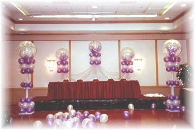 Quinceanera hall decorations quinceanera balloons for Balloon decoration ideas for quinceaneras