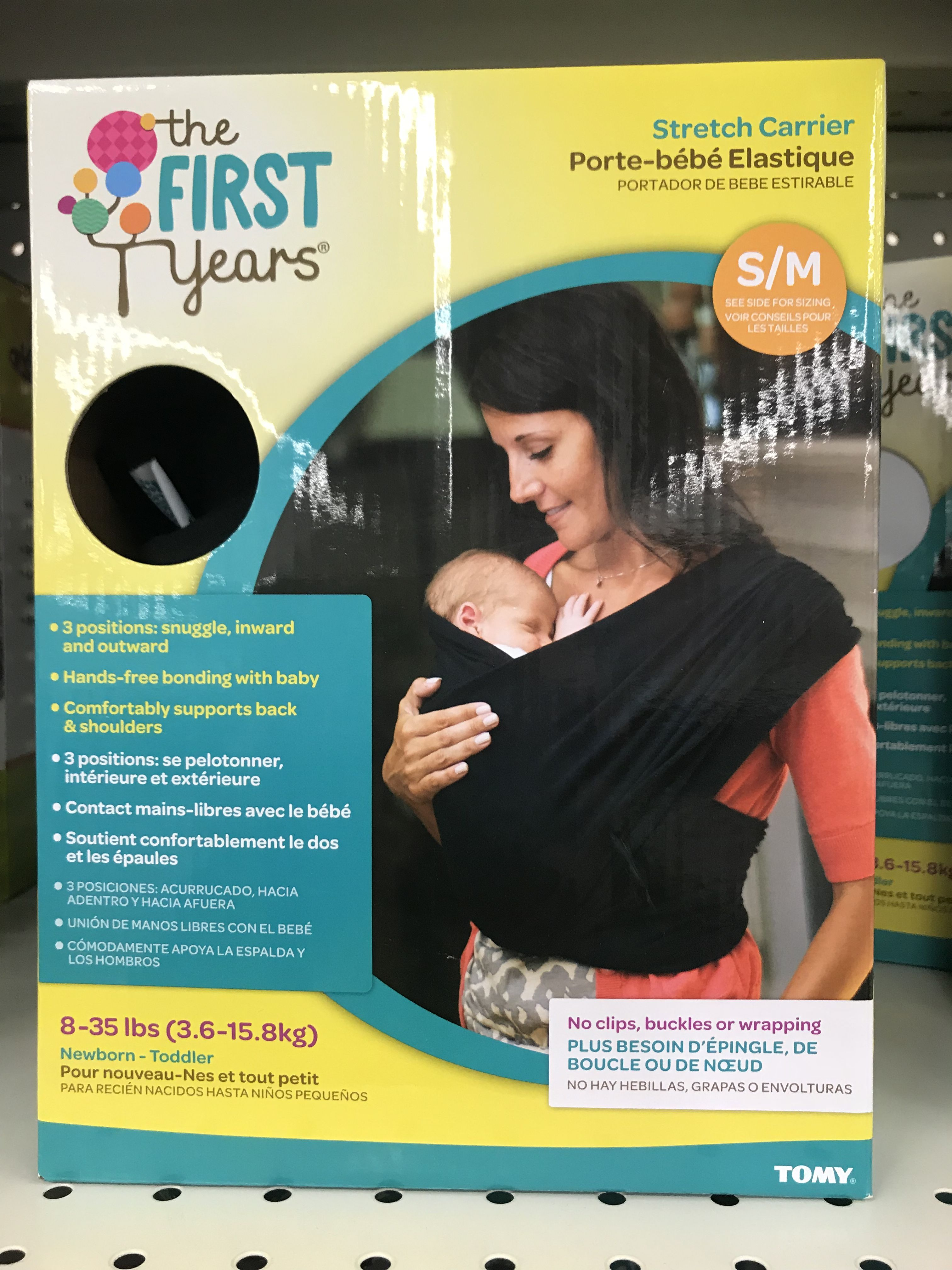 1817dc5a57e Stretch Baby Carrier - The First Years  19.99