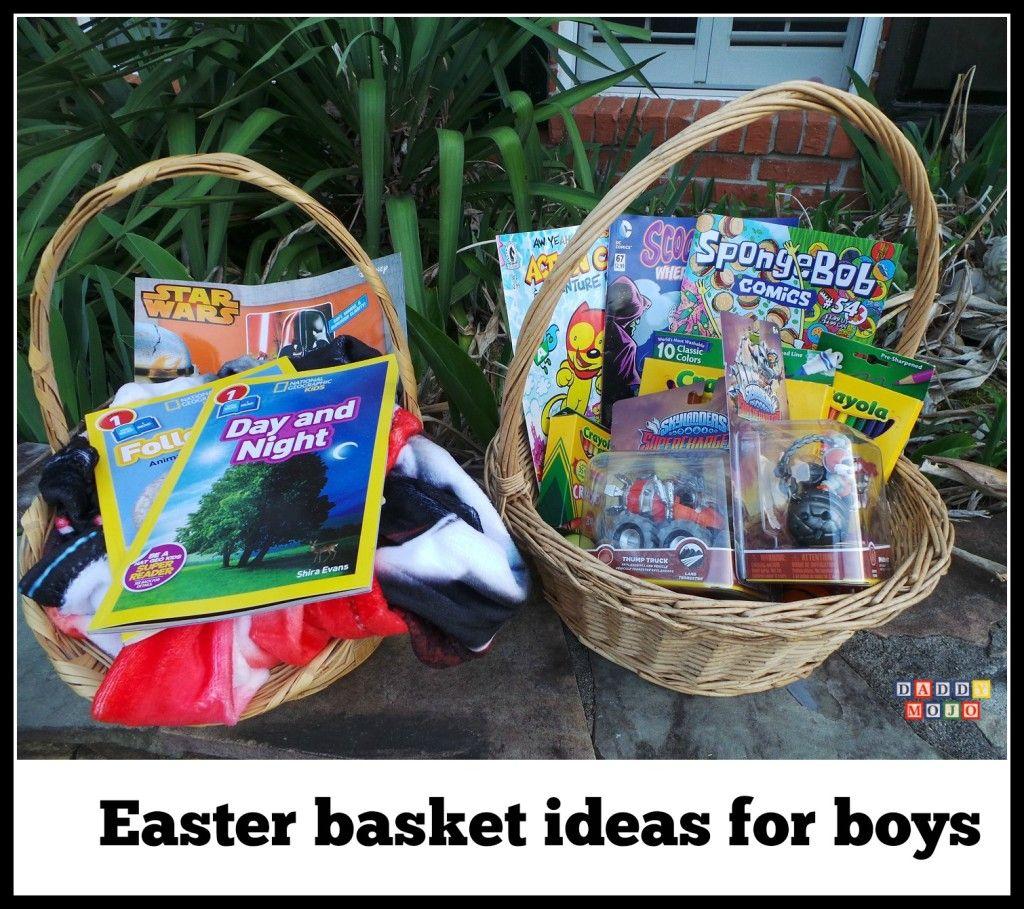 Easter basket ideas for boys daddy mojo i dig pinterest easter basket ideas for boys negle Gallery