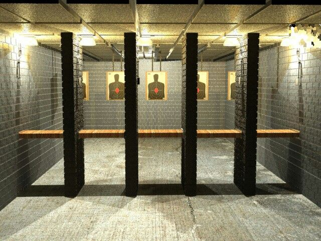 Gun range nice indoor gun range my dream home ideas for Indoor shooting range design uk