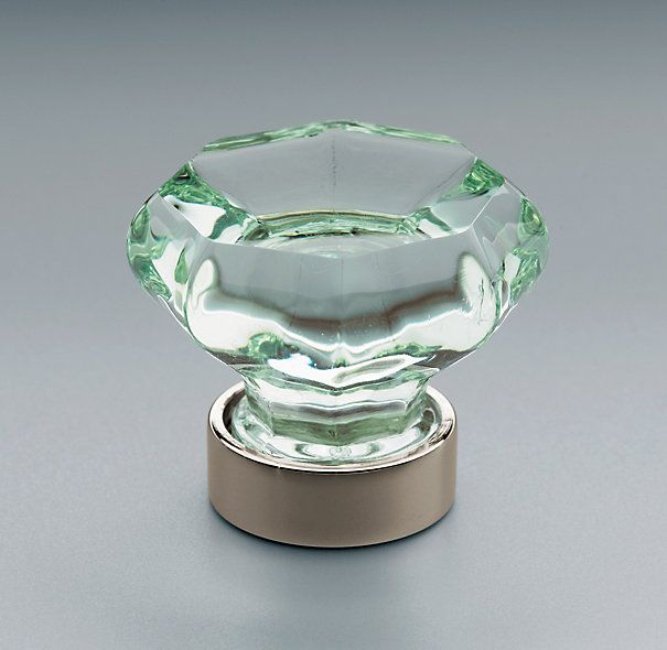 Awesome Replace Boring Knobs With A Sleek, Translucent Green Ones From Restoration  Hardware