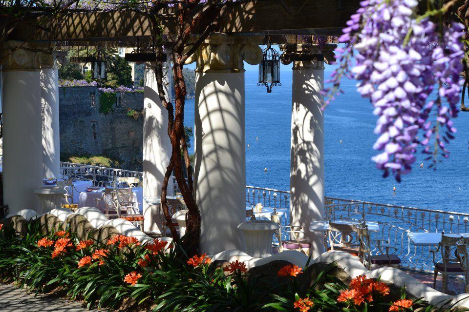 "In Sorrento at ""La Pergola"" Restaurant BellevueSyrene the"