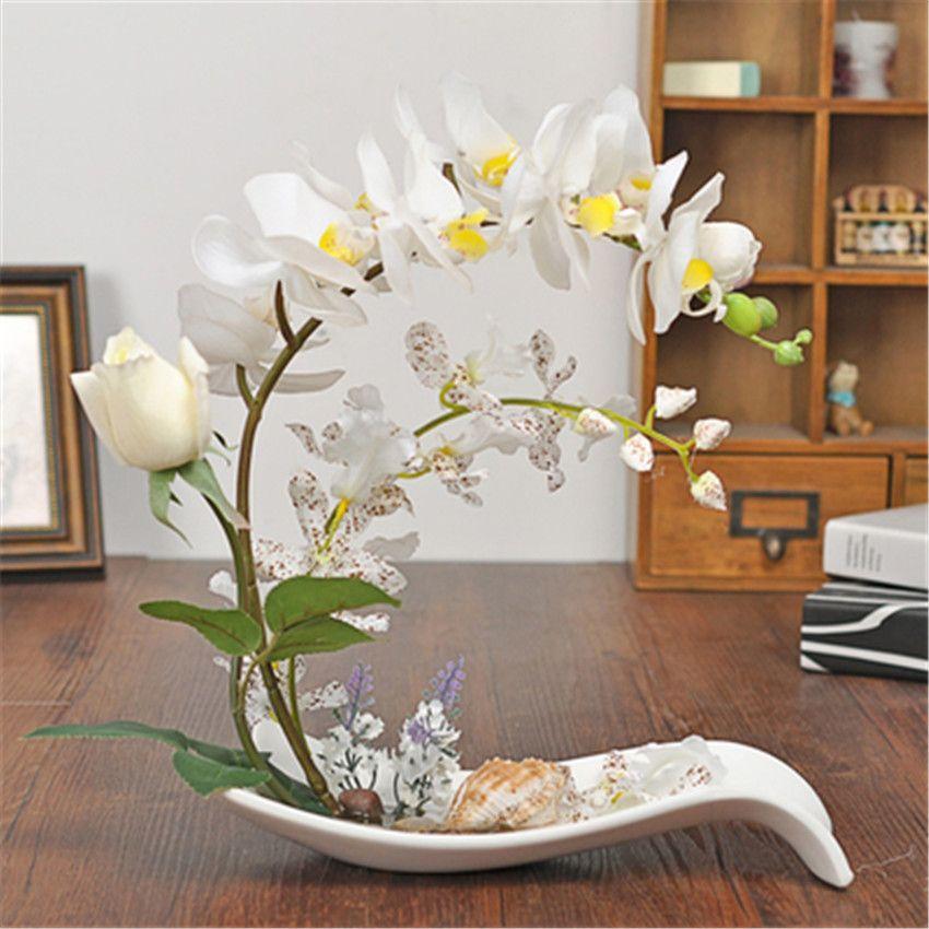 Imagen relacionada arreglo floral pinterest arreglos - Decoracion flores artificiales ...