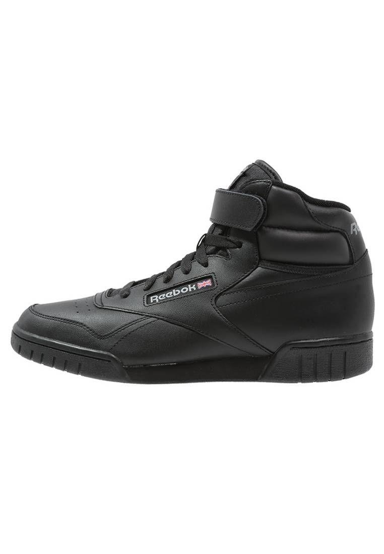 Reebok Classic Ex O Fit Tenisowki I Trampki Wysokie Black Podeszwa Tworzywo Sztuczne Zapiecie Sznurowanie Material Zewnet Sneakers Reebok Classic Shoes